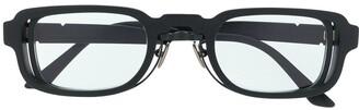 Kuboraum rectangular tinted sunglasses