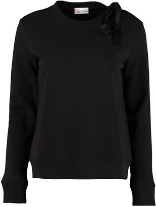 RED Valentino Cotton Crew-neck Sweatshirt