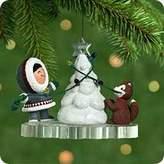 Hallmark Frosty Friends 2001 Ornament