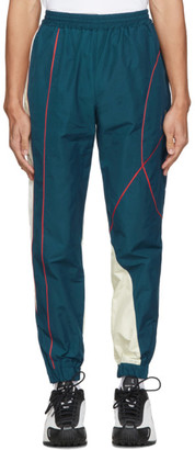 Martine Rose SSENSE Exclusive Blue Twist Track Pants