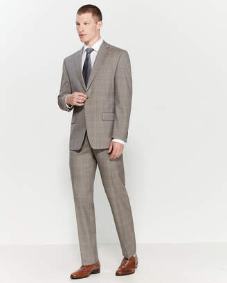 Michael Kors Two-Piece Sharkskin Windowpane Suit