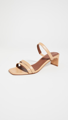 Souliers Martinez Luz Leather 50mm Sandals