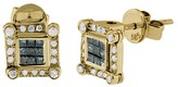 Effy Jewelry Diversa Blue and White Diamond Earrings, .54 TCW