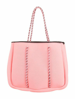 Annabel Ingall Sporty Spice Neoprene Tote Neon