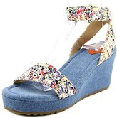 Rocket Dog Women's Edda Spray Burst Cotton Wedge Sandal