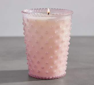 Pottery Barn Scented Hobnail Candle Pot - Beach Plum