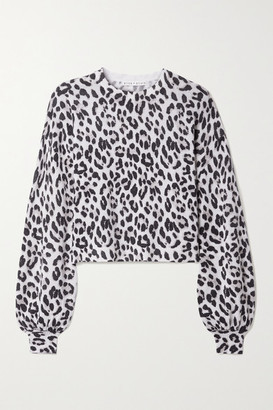 Alice + Olivia Alice Olivia - Ansley Leopard-jacquard Cashmere Sweater - Leopard print