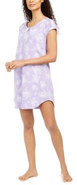 Charter Club Cotton Sleepshirt Nightgown, Created for Macy's