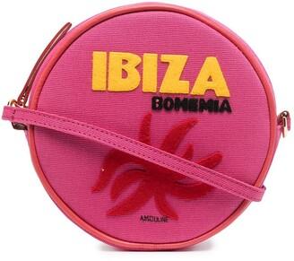 Olympia Le-Tan Ibiza round shoulder bag