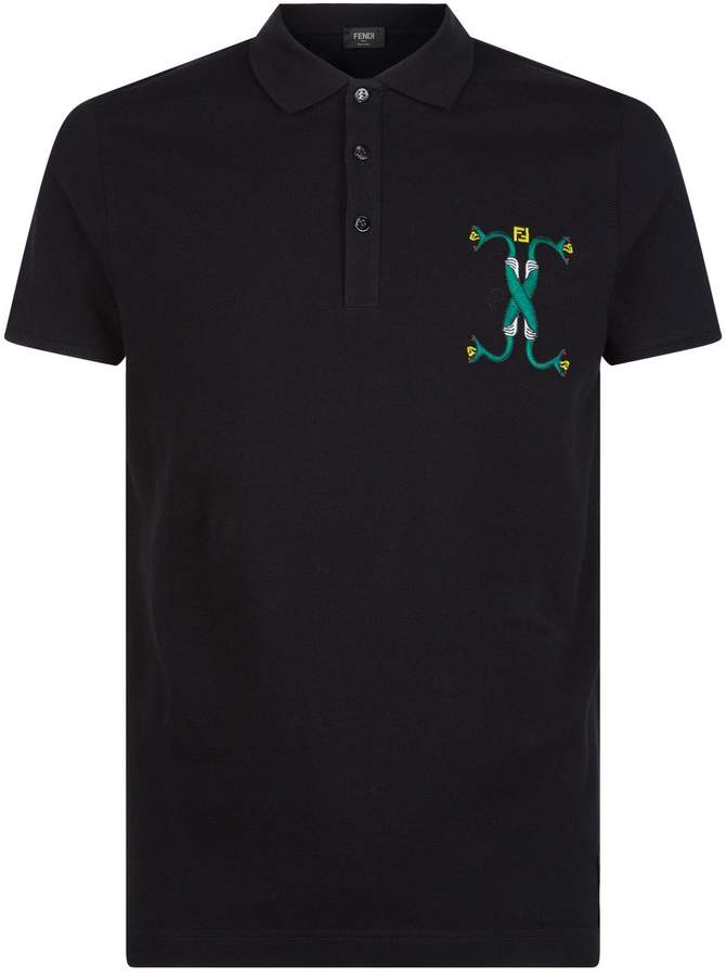 b6c6d0fe Fendi Polo Shirts For Men - ShopStyle Canada