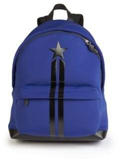 Givenchy Neoprene& Leather Star Backpack