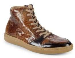 Mezlan Bacoli Leather Sneakers