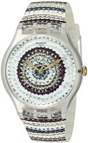 Swatch Unisex SUOK114 Analog Display Quartz Multi-Color Watch