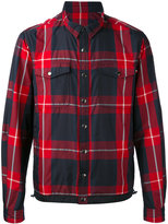 Moncler checked jacket - men - Polyimide - 3