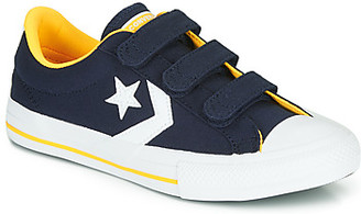 Converse STAR PLAYER 3V VARSITY CANVAS boys's Shoes (Trainers) in Blue