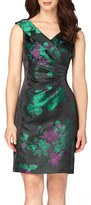 Tahari Women's Jacquard Sheath Dress