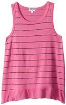 Splendid Littles Printed Stripe with Crinkle Gauze Hem Top Girl's Clothing