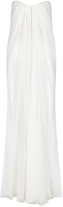 Alexander McQueen Long Draped Dress