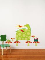 Country Dragon Wall Art