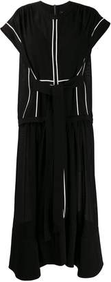 Proenza Schouler sheer short-sleeved dress
