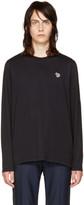 Paul Smith Black Long Sleeve Zebra T-shirt
