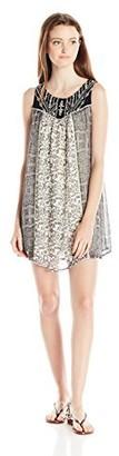 Jolt Women's Twin Print Sleeveless Dress