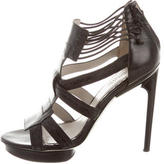 Jason Wu Leather Cage Sandals