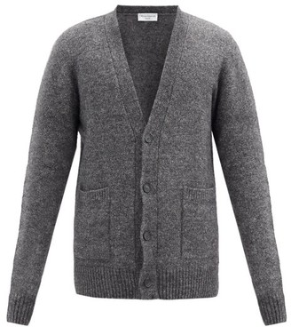 Officine Generale Buttoned V-neck Cardigan - Grey