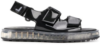 Joshua Sanders Air touch-strap sandals