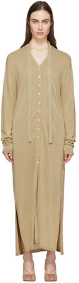 Lemaire Beige Cardigan Dress
