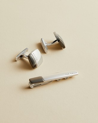 Ted Baker PARCELY Cufflinks and tie bar gift set