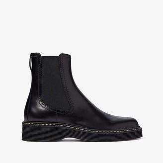 Marni Big Sole Chelsea Boot (Black) Men's Shoes