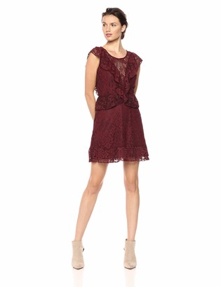 BB Dakota Women's Shaken Not Stirred Lace Dress