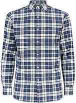 Aquascutum Check Shirt, Blue