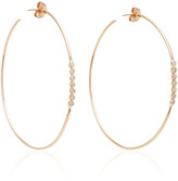 Jacquie Aiche 7 Diamond Bezel Hoops