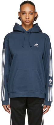 adidas Blue Lock Up Tech Hoodie