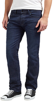 Diesel Waykee Regular Straight Stretch Jeans, Mid Blue 0860z