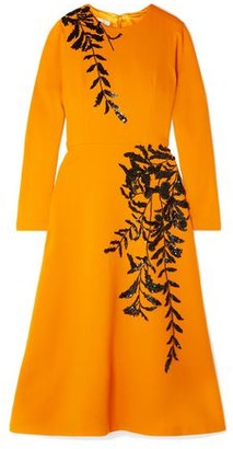 Oscar de la Renta 3/4 length dress