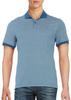 Michael Kors Patterned Performance Polo