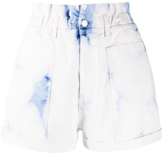 Stella McCartney High-Waist Denim Shorts