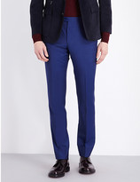 Corneliani Regular-fit wool and mohair-blend trousers