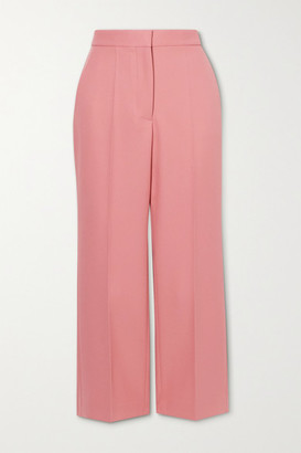 Stella McCartney Carlie Cropped Twill Flared Pants