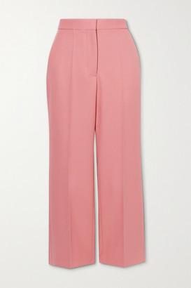 Stella McCartney Carlie Cropped Twill Flared Pants - Pink