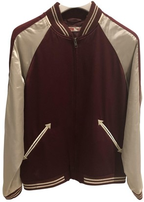 Uniqlo Burgundy Jacket for Women