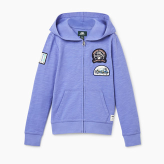 Roots Girls Camp Patch Full Zip Hoody