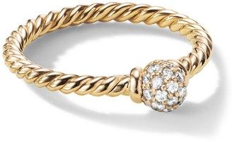 David Yurman Solari Petite Station Diamond Pave Ring