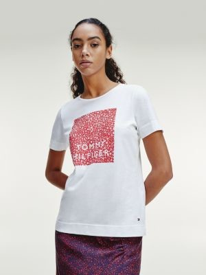 Tommy Hilfiger Contrast Logo Organic Cotton T-Shirt