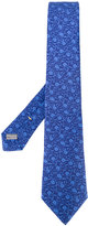 Canali embroidered tie - men - Silk - One Size