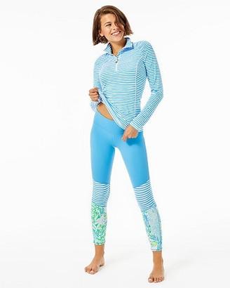 "Lilly Pulitzer UPF 50+ Luxletic 24"" Weekender Midi Legging"