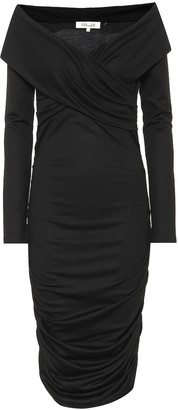 Diane von Furstenberg Wool-blend midi dress